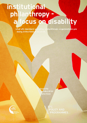Institutional Philanthropy: A Focus On Disability
