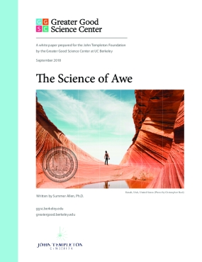 The Science of Awe